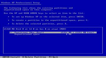 windows xp install 5
