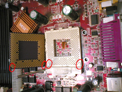 cpu socket direction